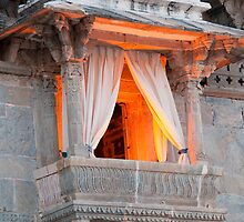 A Window Over Lake Pichola by Clive S