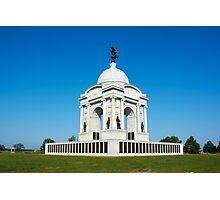 Gettysburg National Park - Pennsylvania Memorial Photographic Print