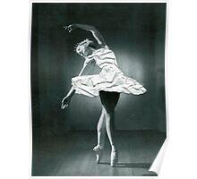 Paper ballerina  Poster