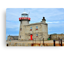 Howth Harbour Lighthouse Canvas Print
