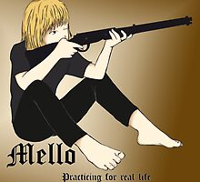 Mello - Death Note by LauraMSS