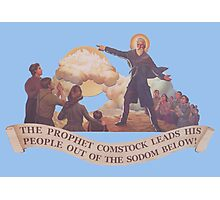BioShock Infinite – The Prophet Leads His People Out of the Sodom Below Photographic Print