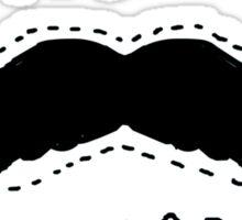 Emergency moustashe Sticker