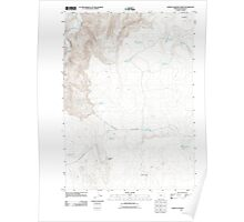 USGS Topo Map Oregon Jordan Craters North 20110901 TM Poster