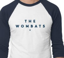 The Wombats - Logo Men's Baseball ¾ T-Shirt