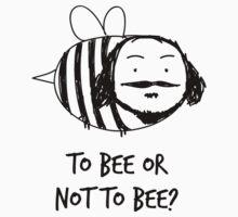 Moustache Bee by Burgernator