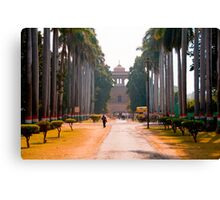 Treelined Entry To The Tombs Canvas Print