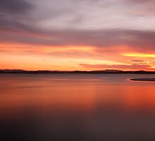 Forster Sunset by Joel  Haldane