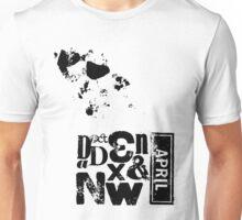 Letterpress Composition Unisex T-Shirt