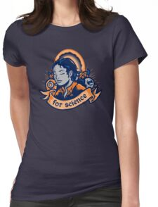 Our Lady Of Science Womens Fitted T-Shirt