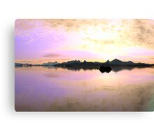 New Dawn (original render) Canvas Print