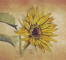 Ah! Sunflower! by Maree Clarkson