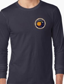 Ares 3 mission to Mars - The Martian (Badge) Long Sleeve T-Shirt