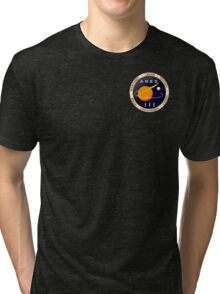 Ares 3 mission to Mars - The Martian (Badge) Tri-blend T-Shirt