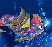 Cruizin Puff Fish by abstractjoys