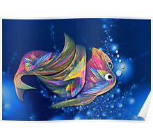 Cruizin Puff Fish Poster