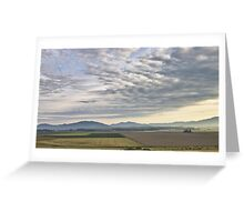 Skagit valley farmlands Greeting Card