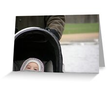LONDON's MOBILITY 2 - Hyde Park Pram Ride Greeting Card