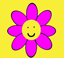 Smiley Flower by Nick Martin