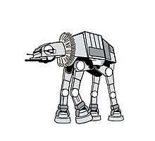 Shakespearean Star Wars: AT-AT Photographic Print