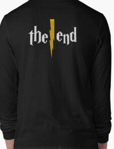 Harry Potter - The End - Back White Long Sleeve T-Shirt