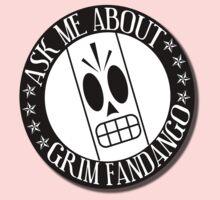 Ask Me About Grim Fandango T-Shirt Kids Tee