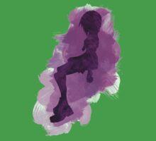Kingdom Hearts: Watercolor Kairi Kids Tee