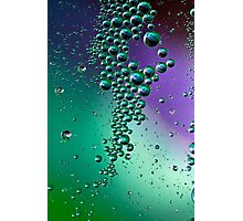 Raining bubbles Photographic Print