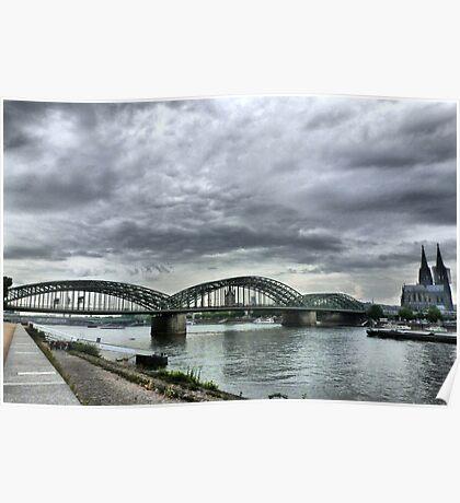 The Hohenzollen Bridge  Poster