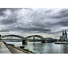 The Hohenzollen Bridge  Photographic Print