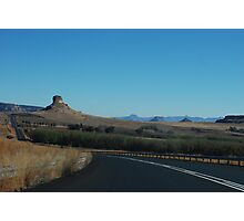 the black ribbon.  free state, south africa Photographic Print
