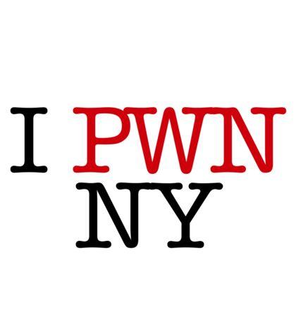 I PWN NY Sticker