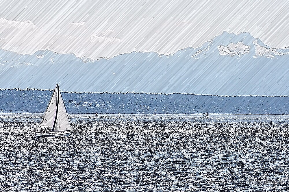 A nice day for a Sail by Doug Cargill