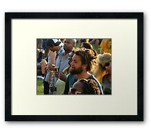 Wacky Hair Framed Print