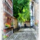 Lier - Picturesque Beguinage Street - Belgium by Gilberte