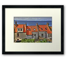 Rear View Windows Framed Print