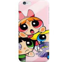 Cute Powerpuff Girls trapped iPhone Case/Skin