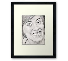 Say cheese...! Framed Print