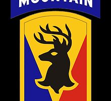 86th Infantry Brigade Combat Team 'The Vermont Brigade' (Mountain) US Army by wordwidesymbols