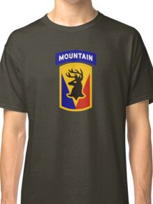 86th Infantry Brigade Combat Team 'The Vermont Brigade' (Mountain) US Army Classic T-Shirt