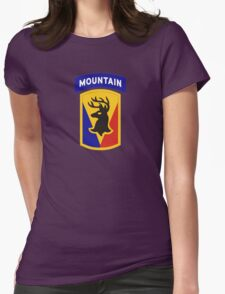 86th Infantry Brigade Combat Team 'The Vermont Brigade' (Mountain) US Army Womens Fitted T-Shirt