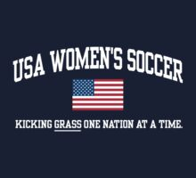 USA WOMEN'S SOCCER Kids Tee