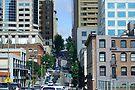 Steep Seattle Street by Tori Snow