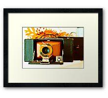Kodak 3-A Folding Brownie Framed Print