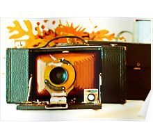 Kodak 3-A Folding Brownie Poster