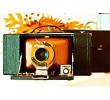 Kodak 3-A Folding Brownie Photographic Print