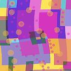 Rainbow Abstracts by Betty Mackey
