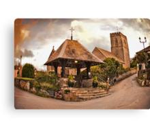St Mary Church - Mortehoe - N Devon Canvas Print
