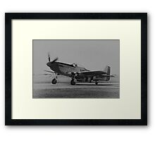 Mustang Take-off Framed Print
