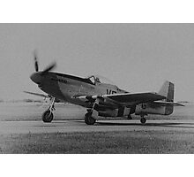 Mustang Take-off Photographic Print